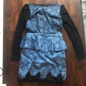 BARELY WORN TIBI Winter dress!